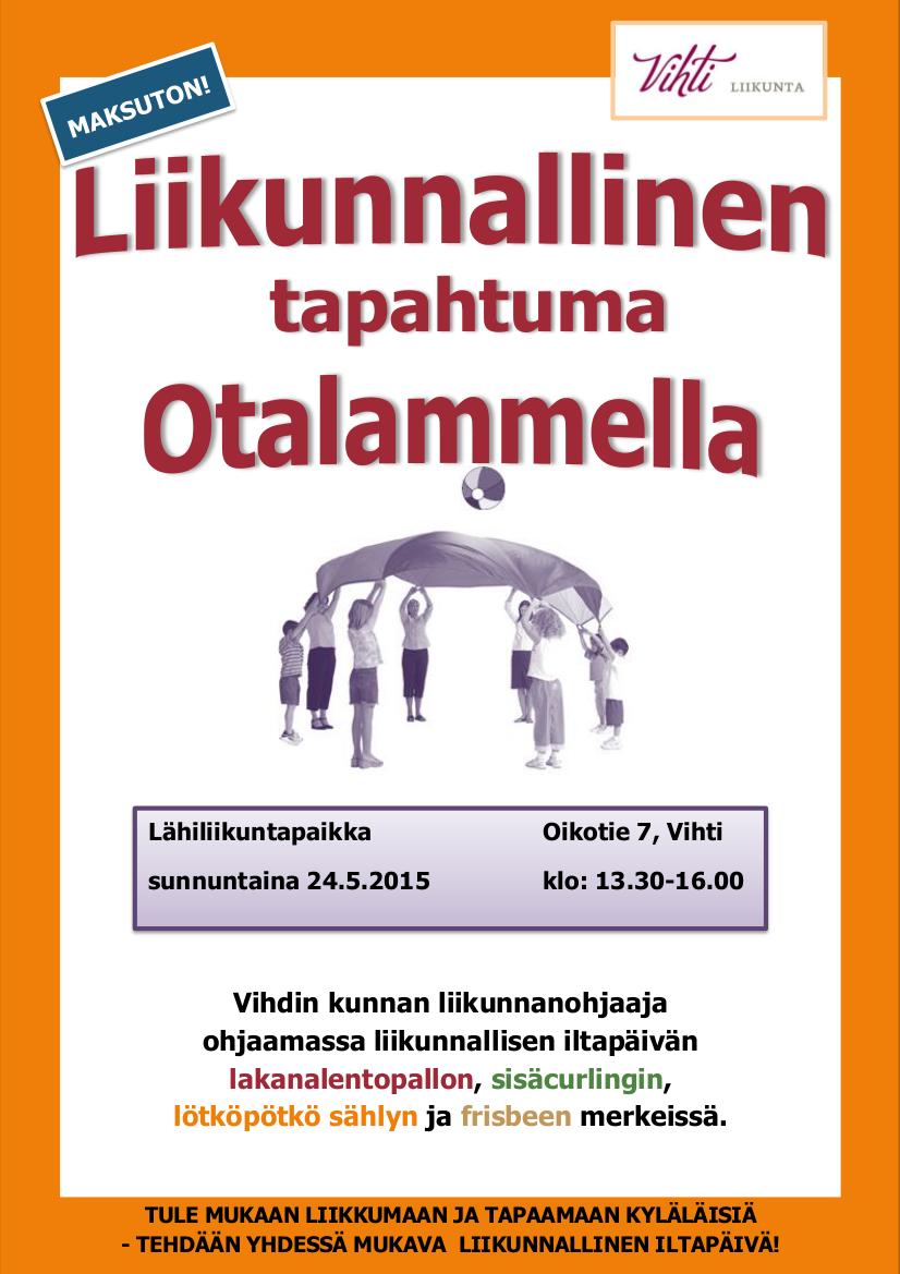 Otalammen KYLÄ tapahtuma 2015